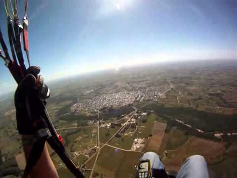 Florida Uruguay vuelo 1356 mts en 46 min