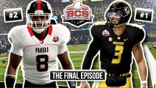 UGF Pandas Finale (BCS National Championship) | NCAA 14 Team Builder Dynasty Ep. 85 (S7)