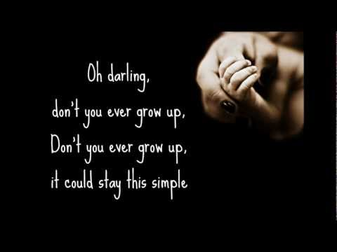 Never Grow Up -- Taylor Swift (Lyrics)
