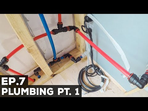 Ep.7 Sprinter Van Conversion | Plumbing Pt. 1