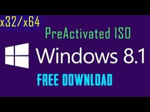 Windows 8.1 | Free Download | Pre-Activated | X32/x64 Bit | AIO ISO