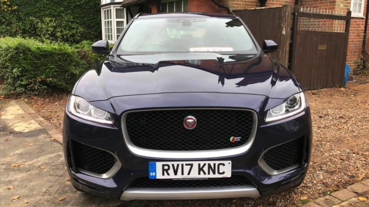 Jaguar F-Pace 2017 for sale - YouTube
