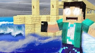 Minecraft - REZENOÉ #68 O DILÚVIO CHEGOU!?