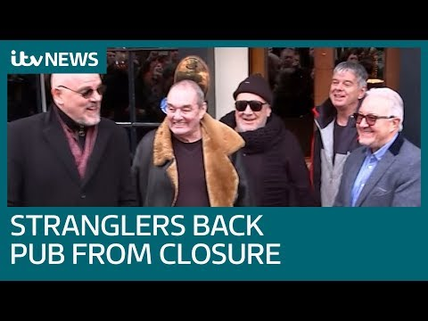 Stranglers back pub against closure 44 years after first performance | ITV News