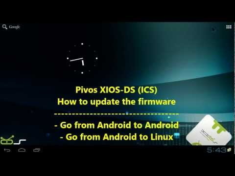 XIOS-DS (ICS): how to update your firmware