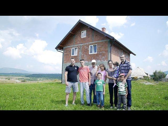 Pomoć porodici Rubež iz Han Pjeska - Srbi za Srbe
