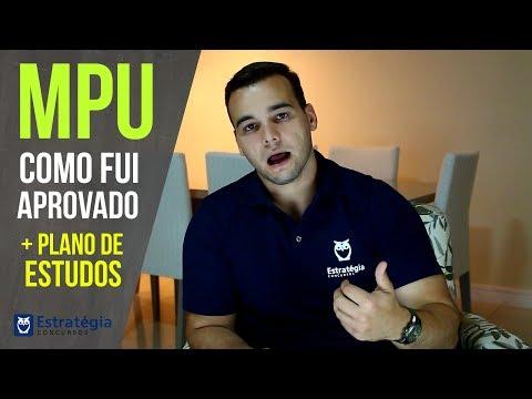 Concurso do MPU: Como Fui Aprovado (dicas, salário, carreira)? | + Plano de Estudos