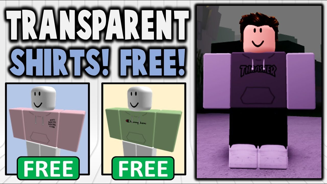 How To Create Transparent Shirts For Free Youtube