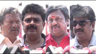 ஒரு தயாரிப்பாளர் 5 ஓட்டு  போடுவது சரியா? Producer Council Election 2017 | Ramarajan, S.V.Sekhar