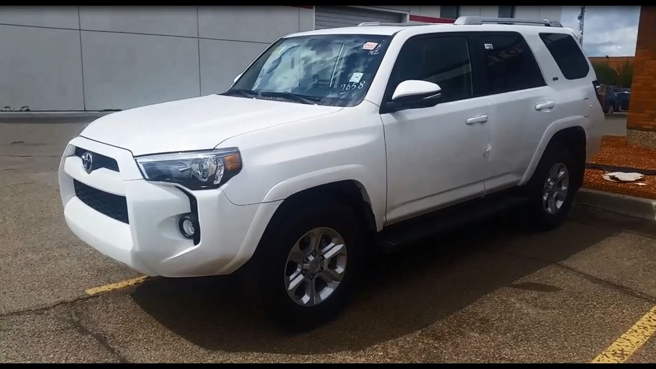 White Toyota 4runner >> 2018 Toyota 4runner Sr5 Premium Package In Alpine White