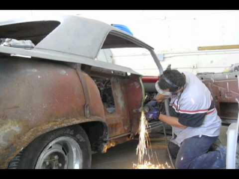 Episode 33 62 Impala Quarter Panel Replacement Youtube
