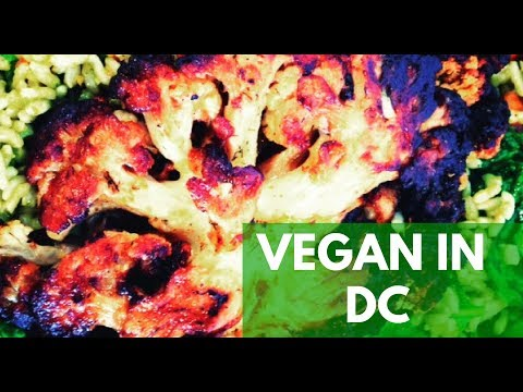 Eating Vegan In DC - What I Ate Today In Washington DC VEGAN