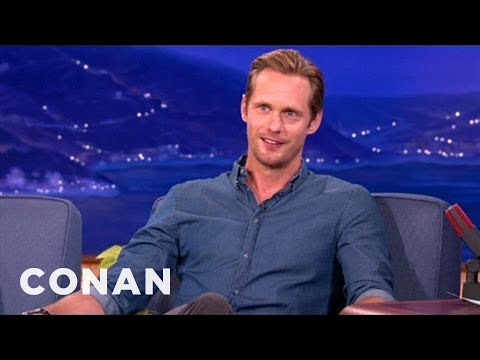 Alexander Skarsgard Is Cool With Being Naked - YouTube