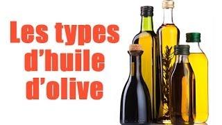 Comment reconnaître les différents types d'huiles d'olive