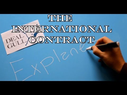 The international contract