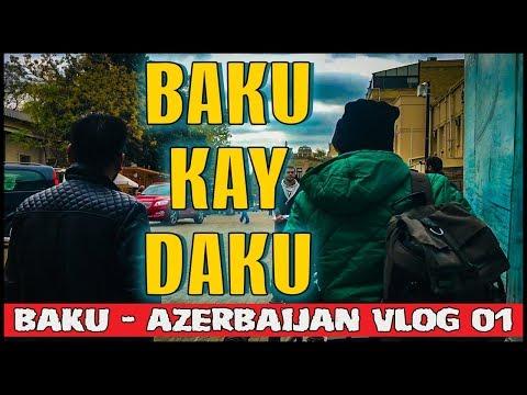 BAKU KAY DAKU | VLOG 01 | Baku - Azerbaijan | Karachi Vynz Official | DELUXE HOLIDAYS