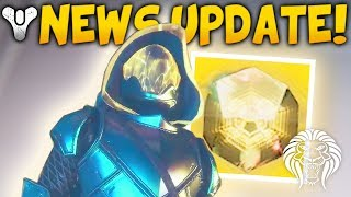DESTINY 2 NEWS! Secret DLC Symbols, Content Update, New Exotic Armor, & Cabal Emperor Info