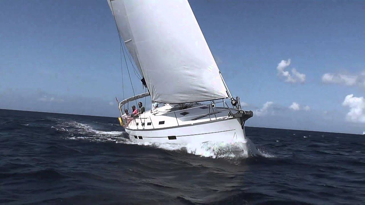 Horizon Yacht Charters New Bavaria Cruiser 45 Sailing In