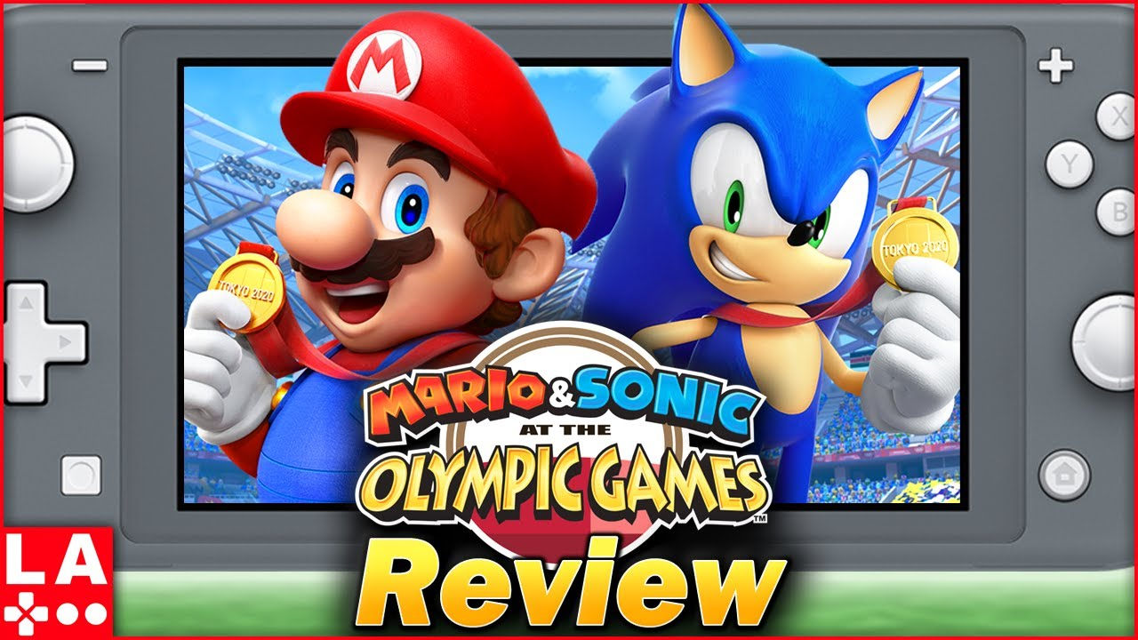 Mario and Sonic at the Olympic Games Tokyo 2020 Review (Video Game Video Review)
