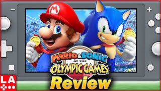 Mario & Sonic at the Olympic Games Tokyo 2020 Review (Video Game Video Review)