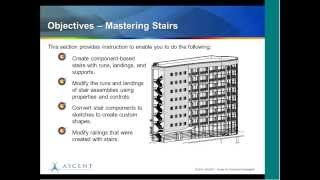 Mastering Component Stairs in Autodesk Revit Architecture: ASCENT Webcas Learning Series