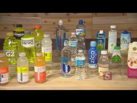 Consumer Reports Examines Vitamin, Electrolyte Drinks