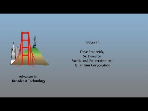 Advances in Broadcast Technology - The Shifting Structure of Media Storage R1