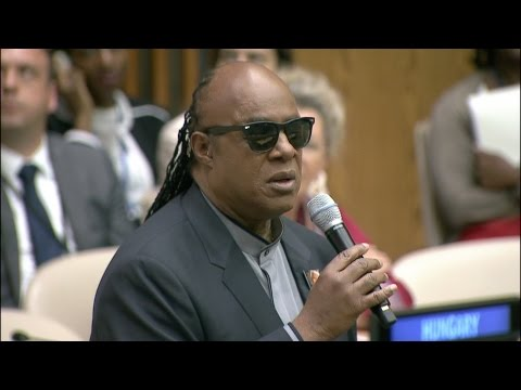 Stevie Wonder Congratulates UN Delegates on Entry into Force of Marrakesh Treaty