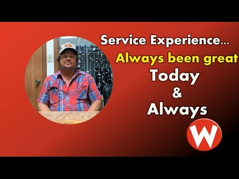 Jeff from Carrollton, MO shares his Service Department experience at wowwoodys!
