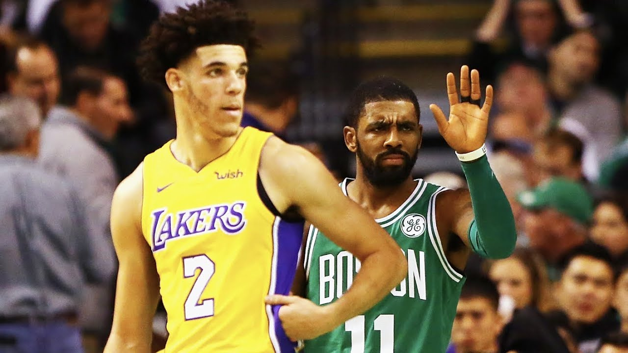 Lonzo Ball vs. Kyrie Irving: Celtics-Lakers rivalry [Full Highlights] | ESPN