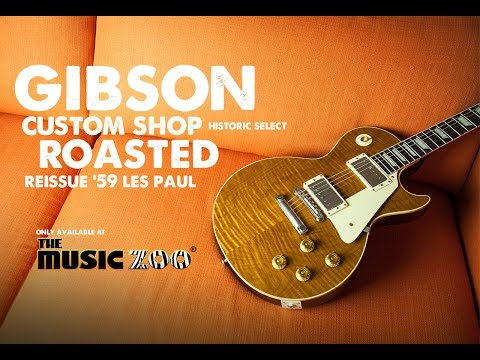 The Music Zoo Exclusive Gibson Custom Shop Roasted Reissue '59 Les Paul