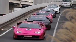 【大黒PA】世界最強諸星一家 スーパーカーサウンド