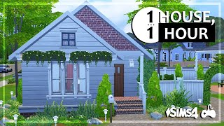 The Sims 4 | House Build • One House, One Hour (RE-POST)
