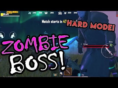 KNIFE FIGHT WITH ZOMBIE BOSS - NEW NIGHT MODE ON VIKENDI - PUBG Mobile
