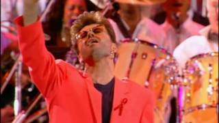 Queen & George Michael - Somebody to Love - (Live Wembley 1992) - HD