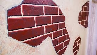 How To Make A Diy Faux Brick Wall
