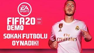FIFA 20 Demo - Sokak Futbolu Oynadık