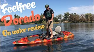 Feelfree Dorado On Water Review Capsize & Reentry