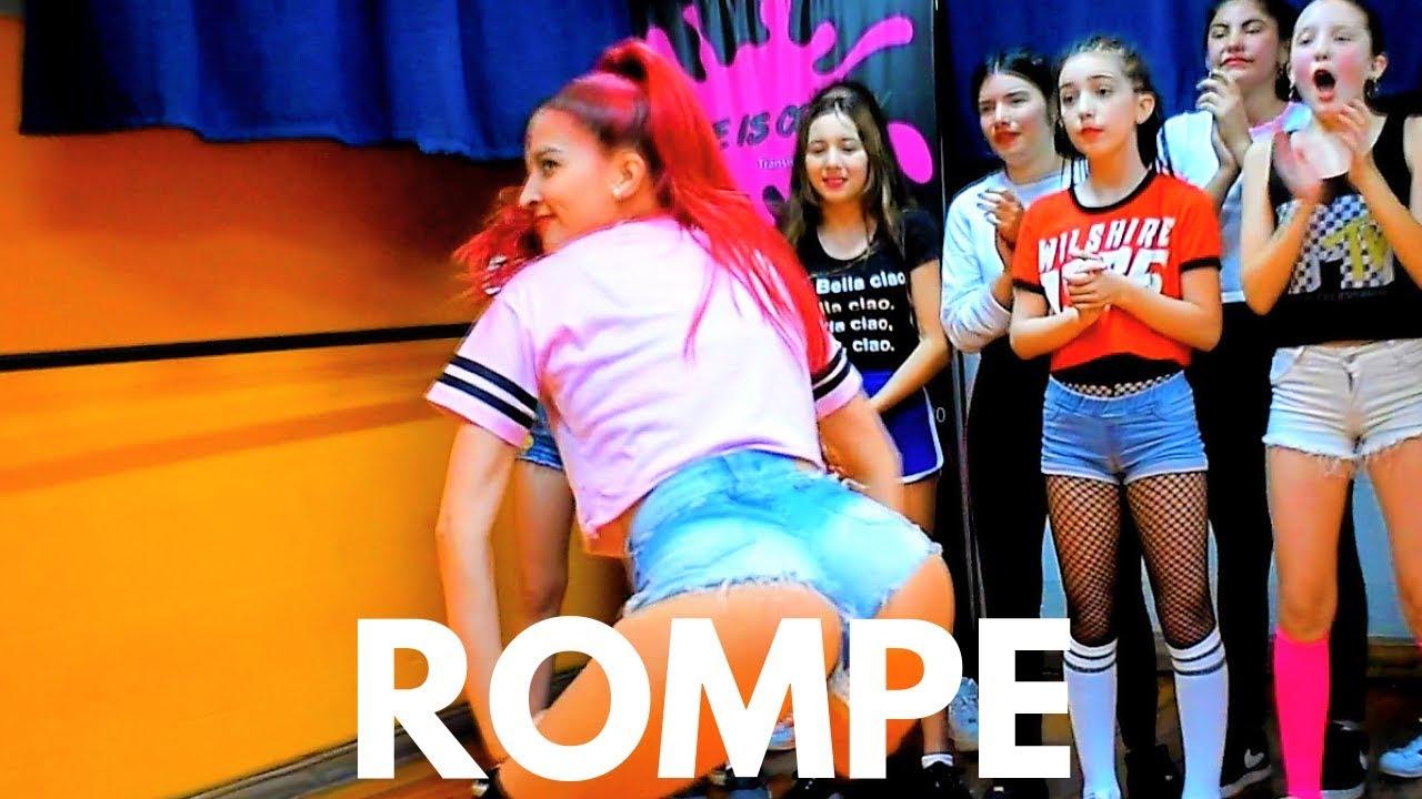 "CLASE ""ROMPE - ECKO FEAT. PAPICHAMP"" / REGGAETON BY ROCIO RAMIREZ"