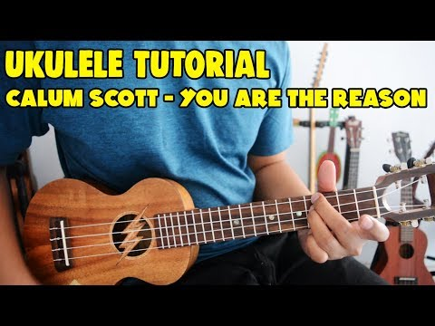 Tutorial Ukulele Pemula:  CALUM SCOTT - YOU ARE THE REASON