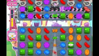 Candy Crush Saga, Level 1265, 1 Star, No Boosters