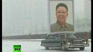Kim Jong-il funeral: Hysteria as cortege moves through Pyongyang snow