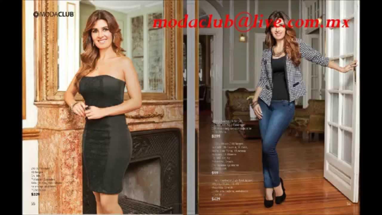13dfd6c70b209 Moda Club Otoño Invierno 2012 Venta de ropa por Catalogo - YouTube
