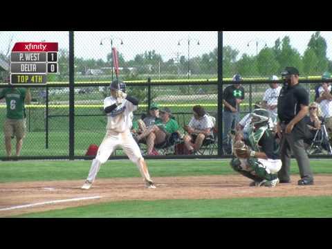 Pueblo West @ Delta 4A state playoff baseball FINAL GFX