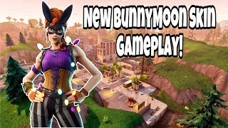 Fortnite - *NEW* BUNNYMOON SKIN OUT NOW!!! [BR] | live gameplay