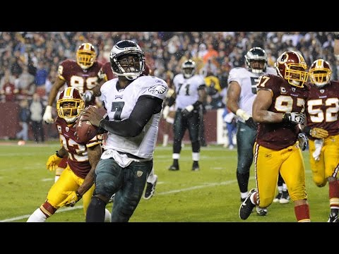 Michael Vick Dominates the Redskins with 6 TDs! | Week 10, 2010 | NFL Highlights