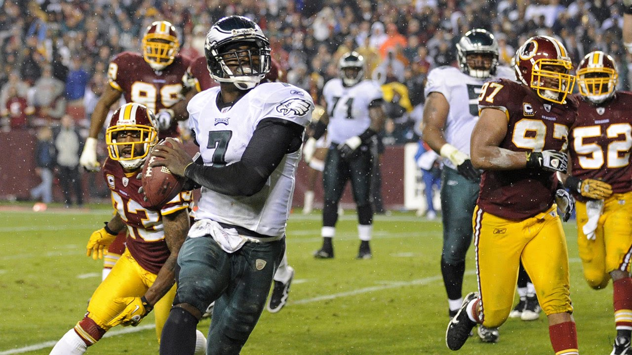 the best attitude 471c0 30d7b Michael Vick Dominates the Redskins with 6 TDs! | Week 10, 2010 | NFL  Highlights