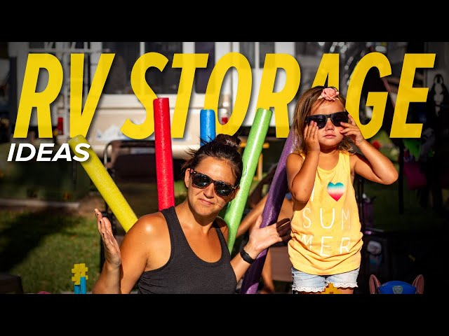 RV Storage Ideas