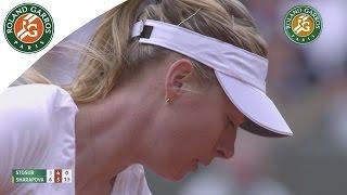 Maria Sharapova v Samantha Stosur Highlights - Women
