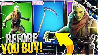 ITS BACK! BEFORE YOU BUY REAPER PICK AXE & NEW BRAINIAC SKIN! | SHOULD YOU BUY BRAINIAC? (Fortnite)